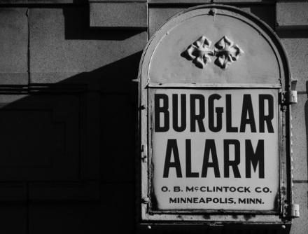 Burglar Alarm 440